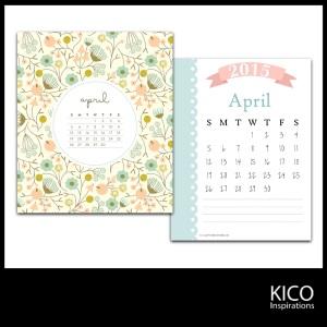 Wallpaper April